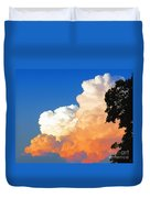 Sunkissed Storm Cloud Duvet Cover
