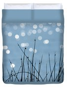 Sunlight Dances Duvet Cover