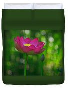 Sunlight On Lotus Flower Duvet Cover