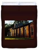 Sunlight On Old Brick Building - Ellensburg - Washington Duvet Cover