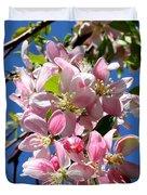 Sunlight On Spring Blossoms Duvet Cover