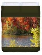 Sunlit Autumn Duvet Cover