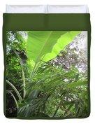 Sunlit Banana With Bamboo Duvet Cover