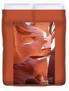 Sunlit Canyon Duvet Cover