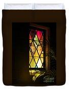 Sunlit Chapel Duvet Cover