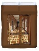 Sunlit Corridor Duvet Cover