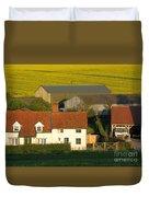 Sunlit Farm Duvet Cover