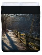 Sunlit Path Duvet Cover