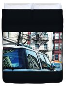 Sunny Day In Washington Heights Duvet Cover