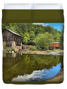 Sunny Days At Mcconnells Mill Duvet Cover