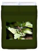 Sunny Dragonfly Duvet Cover