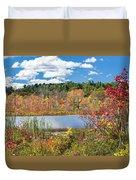 Sunny Fall Day Duvet Cover