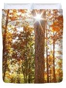 Sunny Hardwoods Duvet Cover