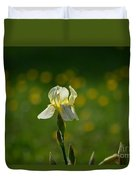 Sunny Iris Duvet Cover