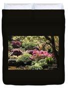 Sunny Japanese Garden Duvet Cover