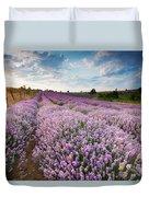 Sunny Lavender Duvet Cover