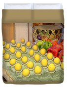 Sunny Side Up Duvet Cover by Chuck Staley