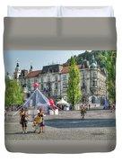 Sunny Slovenia Duvet Cover