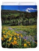 Sunny Spring Day Duvet Cover