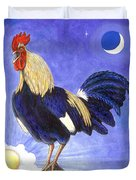 Sunny The Rooster Duvet Cover