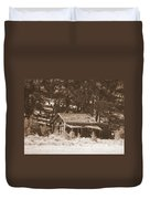 Sunny With Two Porches Duvet Cover