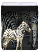 Sunny Zebra Duvet Cover