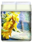 Sunnyabstracted Duvet Cover