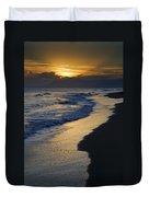 Sunrays Over The Sea Duvet Cover