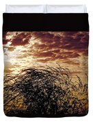 Sunrise And Lacy  Tree Duvet Cover