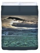 Sunrise At A Small Pond In Yellowstone Duvet Cover