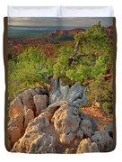Sunrise At Bryce Canyon National Park Utah Duvet Cover