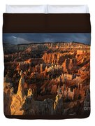 Sunrise At Bryce Canyon Duvet Cover