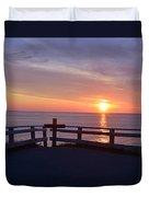 Sunrise At Cape Spear St Johns Newfoundland Duvet Cover