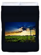 Sunrise At E5 And 180 Duvet Cover