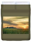 Sunrise At Little Neck Duvet Cover