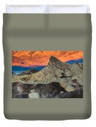 Sunrise At Manly Beacon Duvet Cover