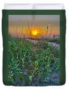 Sunrise At Myrtle Beach Duvet Cover