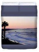 Sunrise At Pismo Beach Duvet Cover