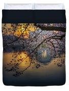 Sunrise At The Thomas Jefferson Memorial Duvet Cover