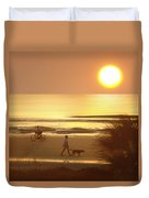 Sunrise At Topsail Island 2 Duvet Cover