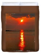 Sunrise Atlantic City Duvet Cover