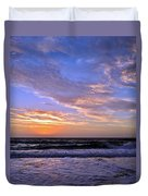 Sunrise Cloudshadows Duvet Cover