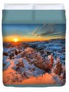 Sunrise Delight Duvet Cover