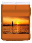 Sunrise Frolic Duvet Cover