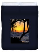 Sunrise Fuji Beach Kauai Duvet Cover