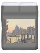 Sunrise Grand Canal Duvet Cover