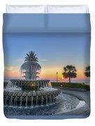 Sunrise In Charleston Duvet Cover