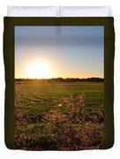 Sunrise In Oklahoma Duvet Cover