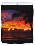 Sunrise In Queensland 2 Duvet Cover