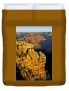 Sunrise In The Canyon Duvet Cover
